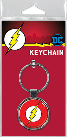 The Flash Logo Keyring