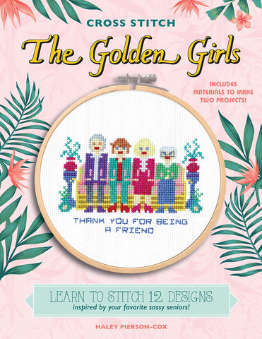 Golden Girls Cross Stitch Book Kit