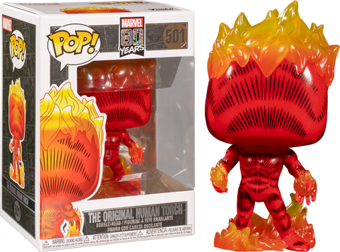 Original Human Torch POP Figure