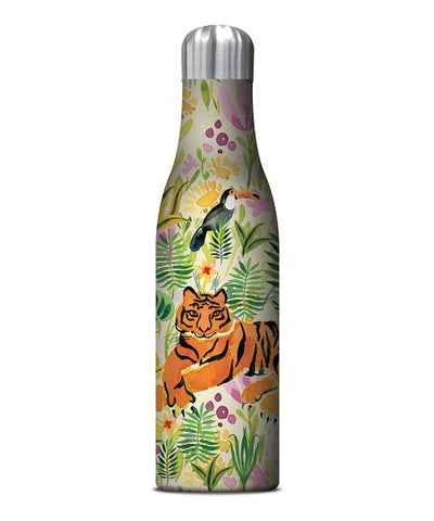 Tiger Metal Water Bottle