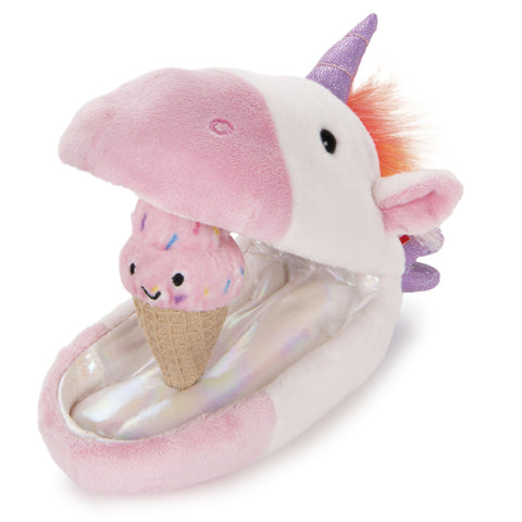 Unicorn Plush Pod Ice Cream