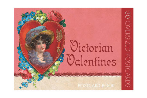 Vintage Victorian Valentines Post Card Book