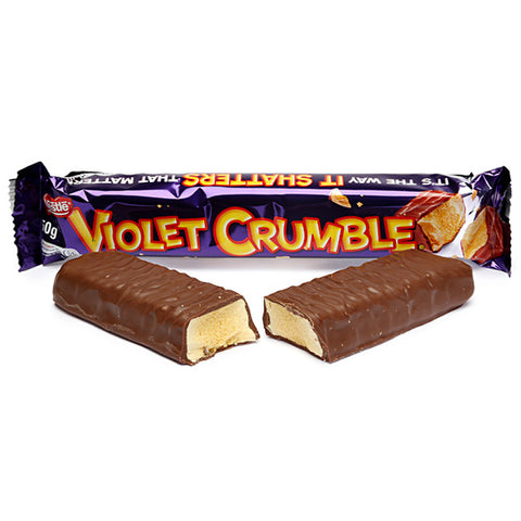 Violet Crumble Candy Bar