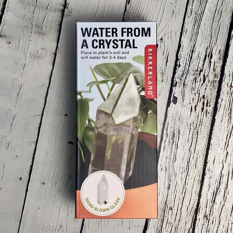 Water From A Crystal