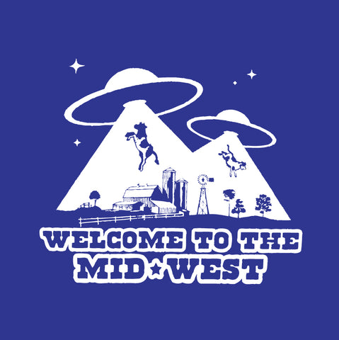 Welcome To The Midwest Sticker
