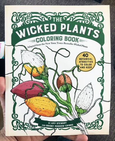Wicked Plants Coloring Book