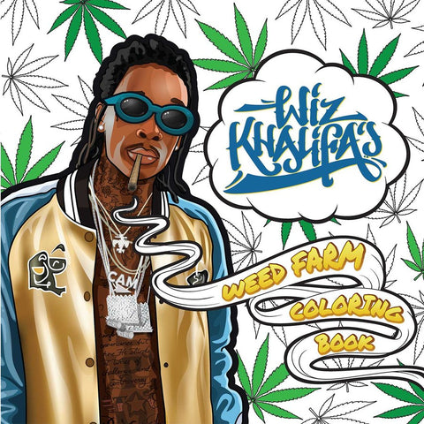Wiz Khalifa's Weed Coloring Book