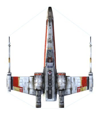 X-Wing Fighter Micro Kite