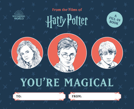 You're Magical Fill-In Book