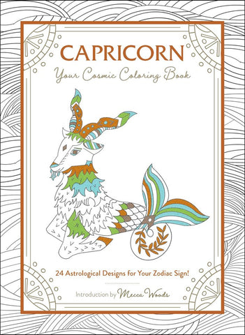 Capricorn Your Cosmic Coloring Book