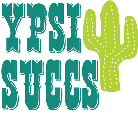 Ypsi Succs Sticker