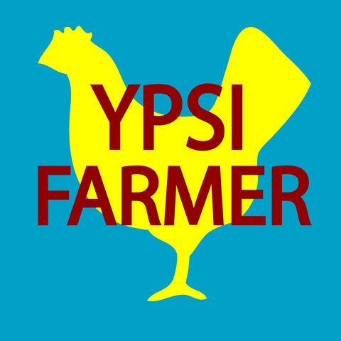 Ypsi Farmer Sticker