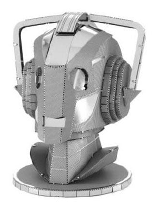 Cyberman Bust Metal Model