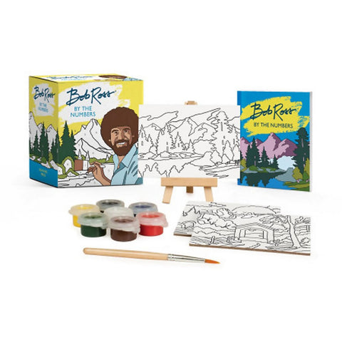 Bob Ross Paint By Number Kit