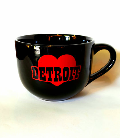 Heart Detroit Soup Mug