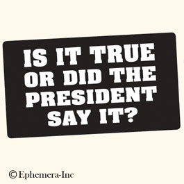 Is It True? Bumper Sticker