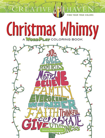 Christmas Whimsy Coloring Book