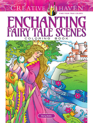 Enchanting Fairy Tale Scenes Coloring Book