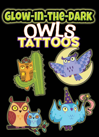 Owls Tattoos Glow