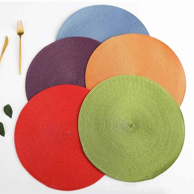 Round Placemat Set of 4