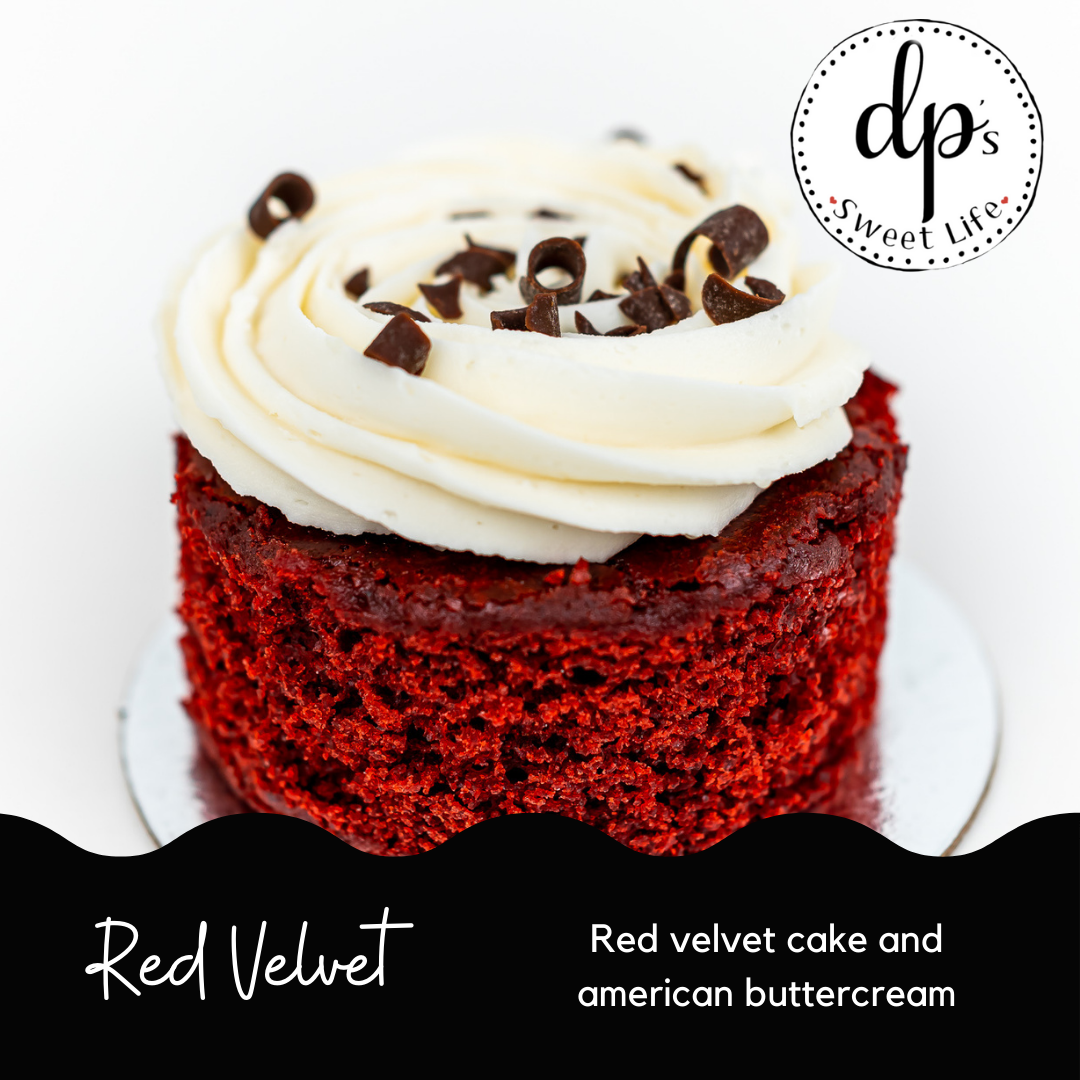 Red Velvet - Cupped Cake