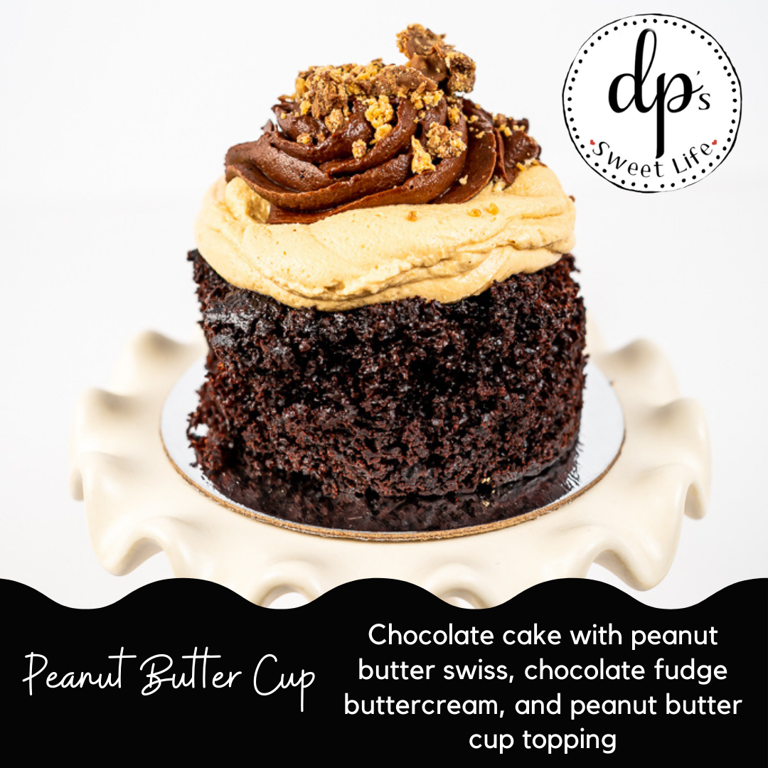Peanut Butter Cup - Cupped Cake