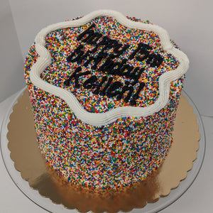 "DP's Exclusive ""Sprinkle"" Cake"