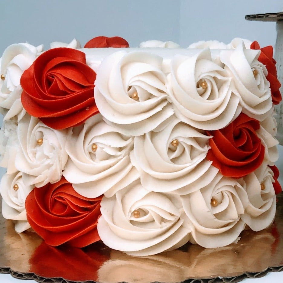 "DP's Exclusive ""Rossette"" Cake"