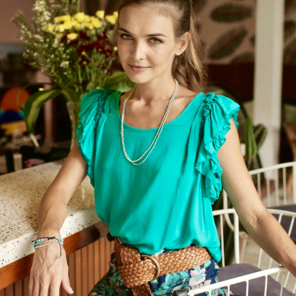 Claire Top Emerald