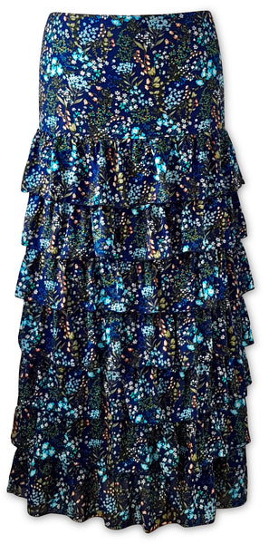 Isabella Maxi Skirt/Dress  Midnight Blue Orchid