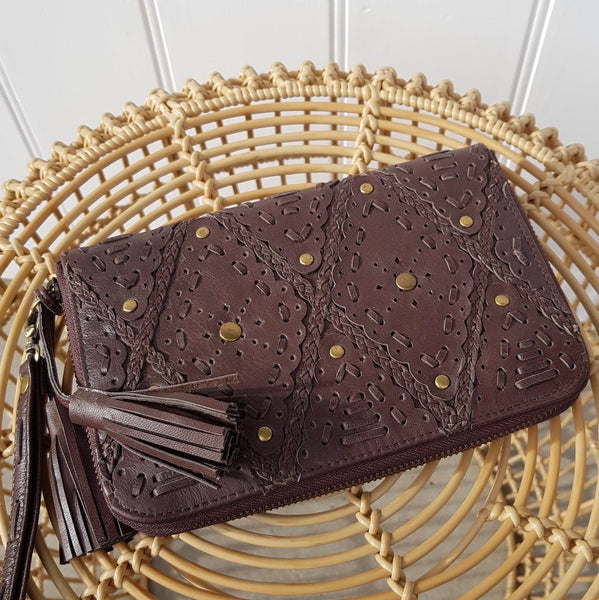 Wallet in Chocolate