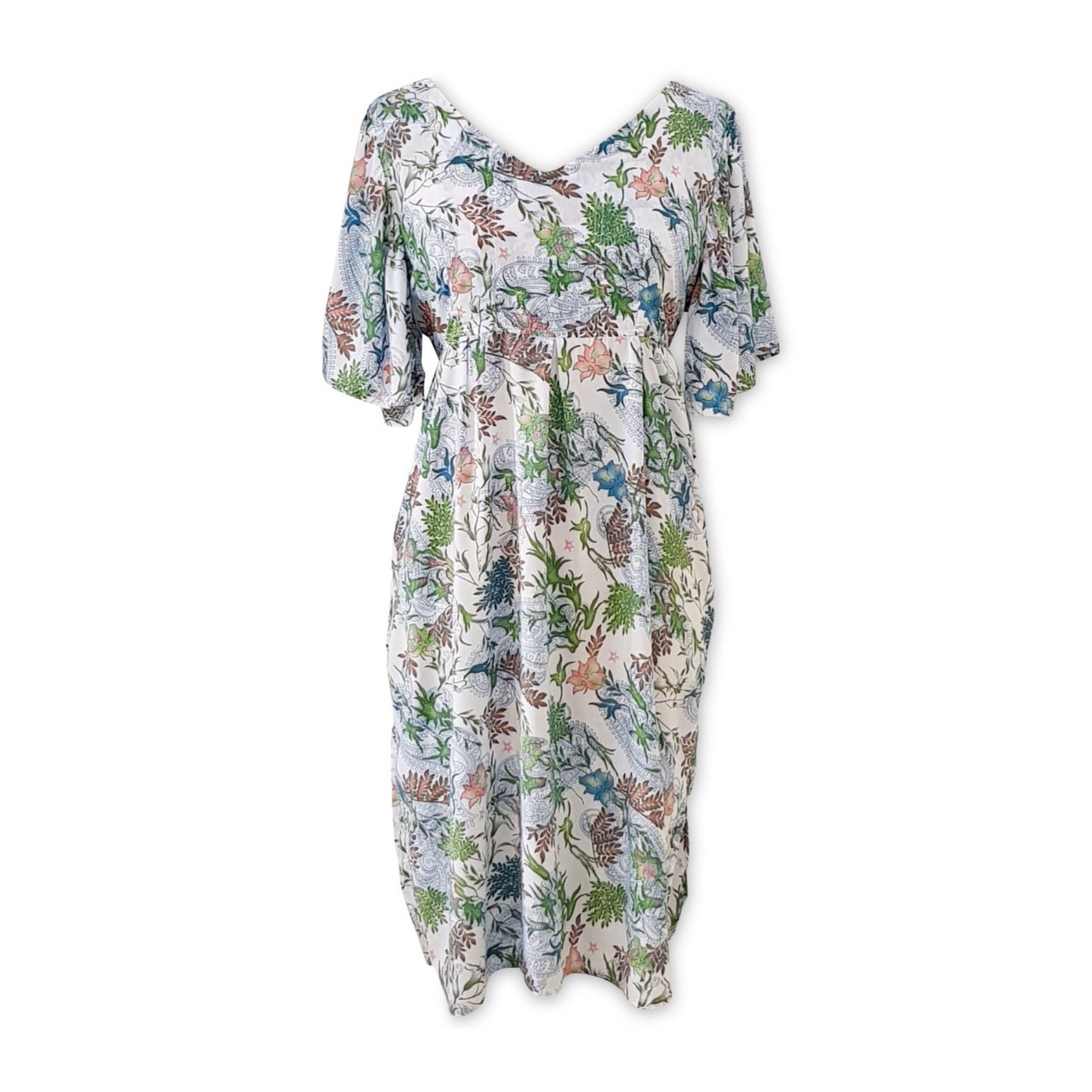 Maddie Midi Dress Botanical