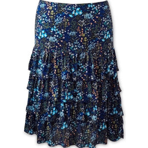 Isabella Midi Skirt Midnight Blue Mini