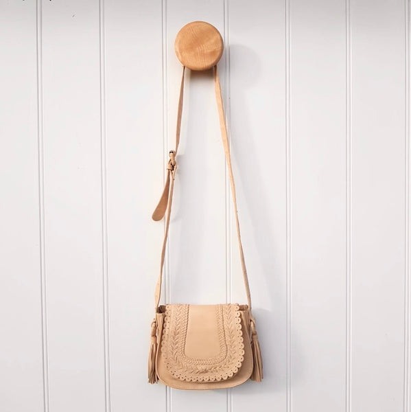 Saddle Bag Small in  Nude
