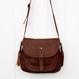 Saddle Bag in Chocolate