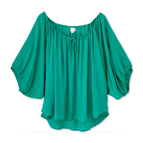 Lola Top (short) Emerald
