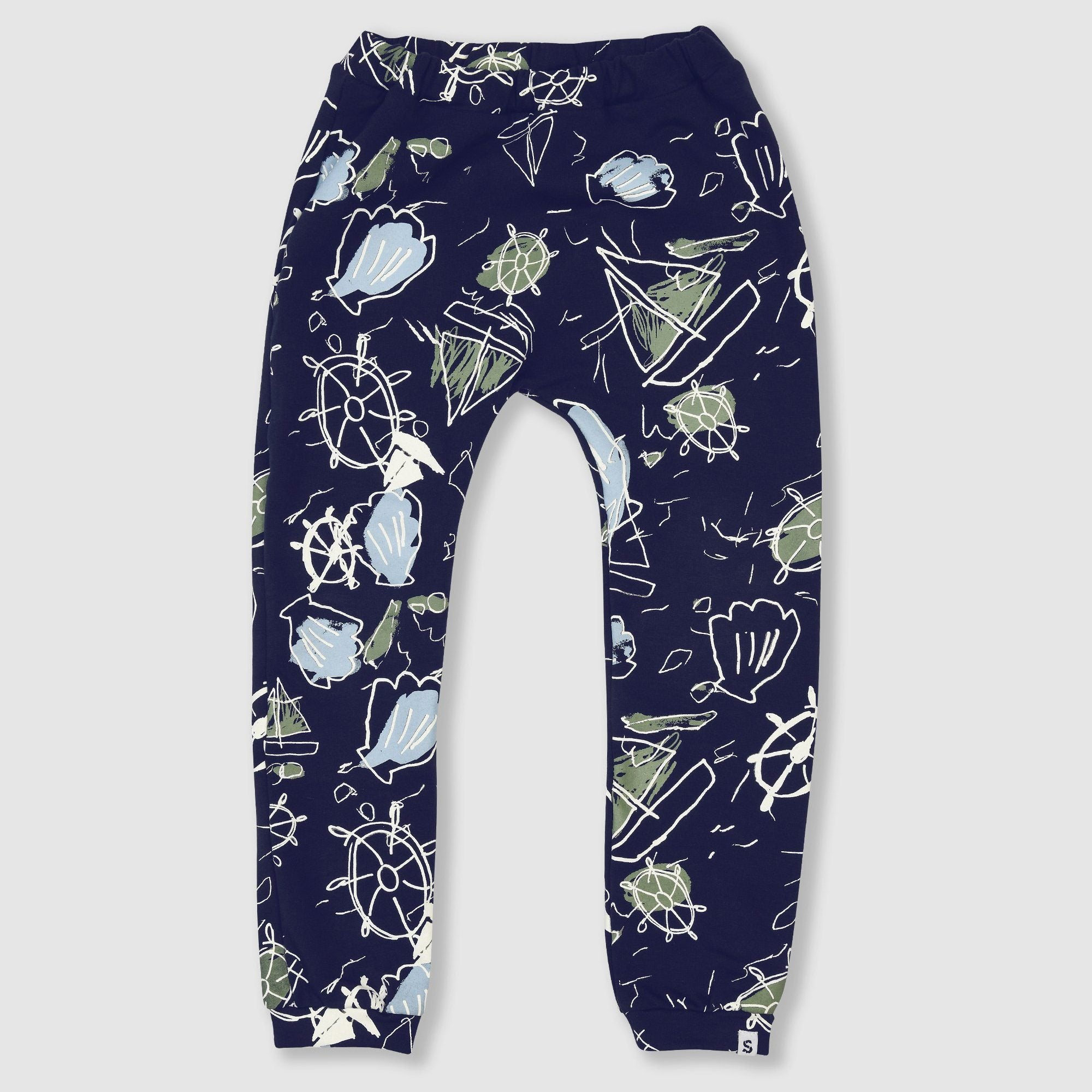 Sketchbook Print Joggers