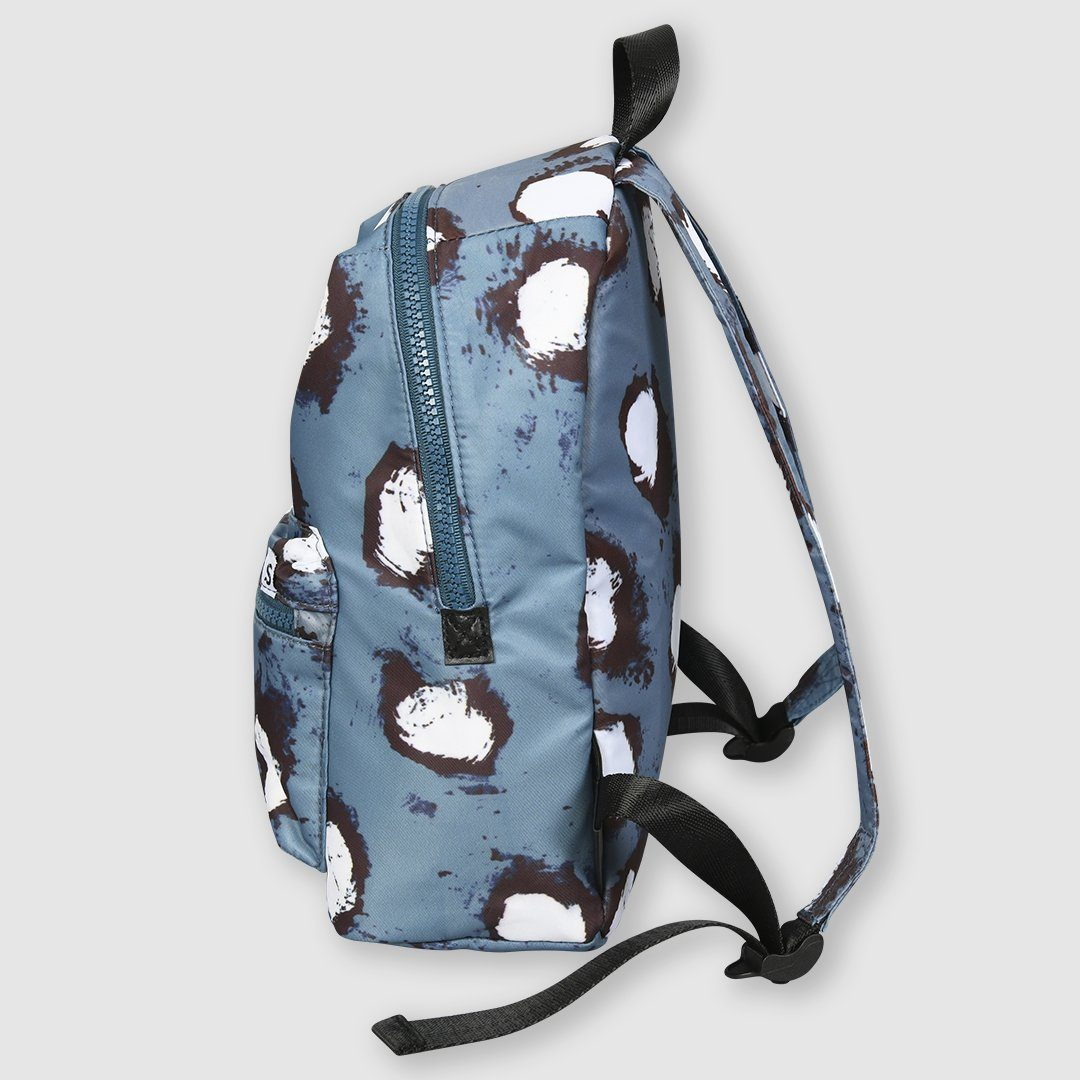 Painted Dot Backpack Blue