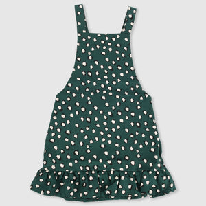 Painted Dot Pinafore Dress