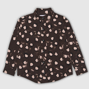 Painted Dot Brown Shirt