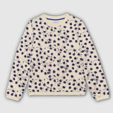 Painted dot adult sweater