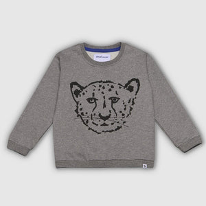 Cheetah Grey Sweatshirt