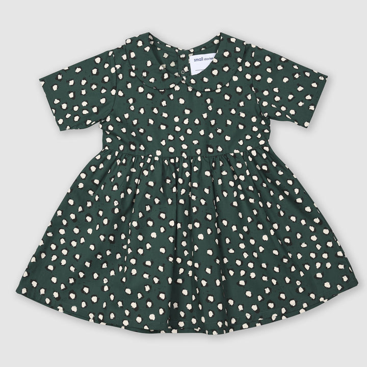 Painted Dot Collar Dress