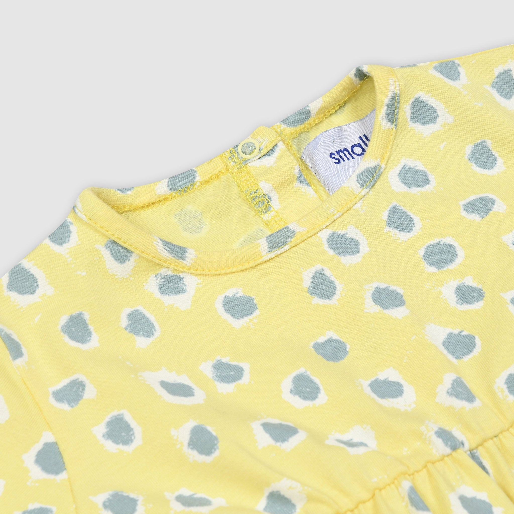 Painted Dot Baby Dress
