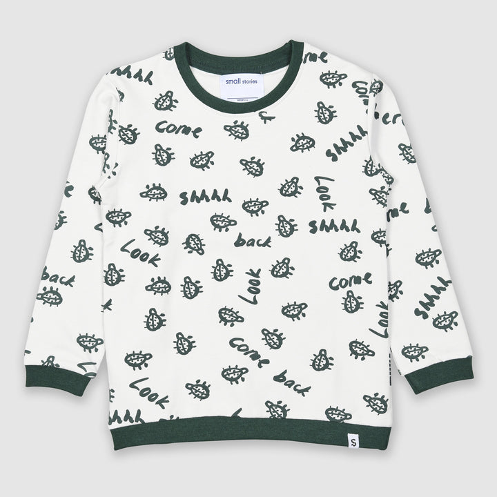 Painted Bug Sweatshirt