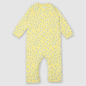 Painted Dot Yellow Romper