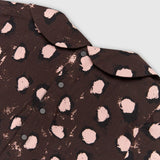 Painted Dot Collar Blouse