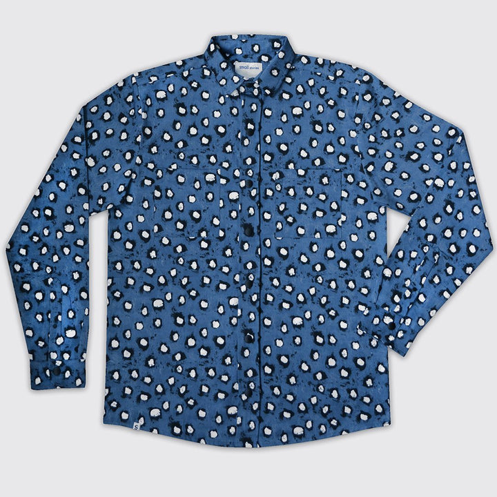 Mens Painted Dot Shirt
