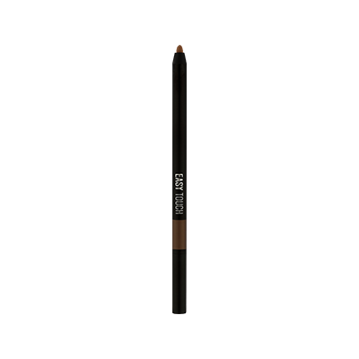 EASY TOUCH WATERPROOF EYEBROW PENCIL - 02 BLACK BROWN