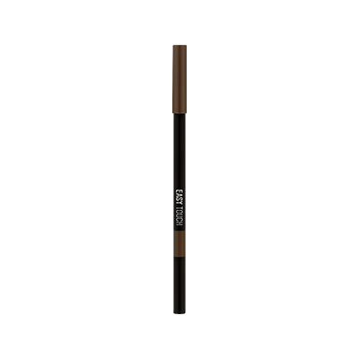 EASY TOUCH WATERPROOF EYEBROW PENCIL - 01 LIGHT BROWN